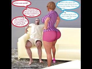 Sluts in traning comic thumb 3d comic hotwife slut cheating on husband
