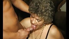 Giving This Granny His Huge Dick