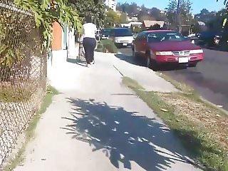 Big plump teen Big plump ass candid street