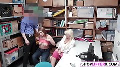 Busty Teen Suspect Immediately Admitted To Theft