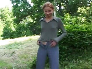 Power rangers vintage Sexy kinky skinny teen outdoor power piss