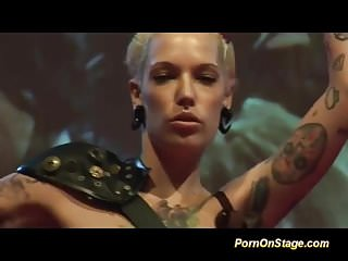 Humour on porn Tattooed fisting babes on porn stage
