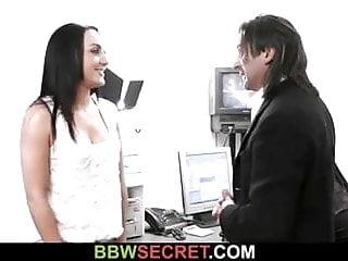 Ebony secretary hardcore Married boss cheats with ebony secretary