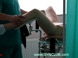 Lesbian gynecology Girls on the gynecological chair