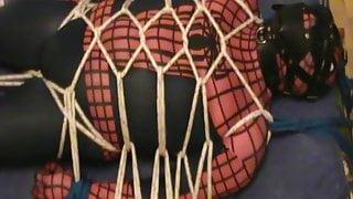 Muzzled Spiderman