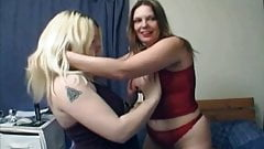 Hot Fat Chubby Lesbians fingering and playing with pussies-1