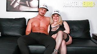 ScambistiMaturi - Hot MILF Desire Bellavita Hard Anal On Cam