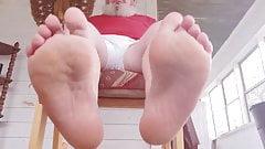 Mature Chubby's Feet, Socks, and Crocs