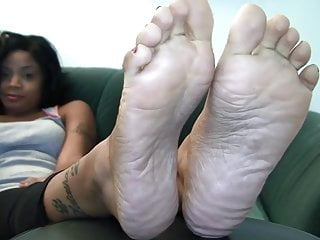Ebony feet fetish - Ebony feet soles