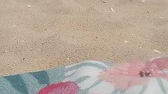 Teen bbw soles at the Beach