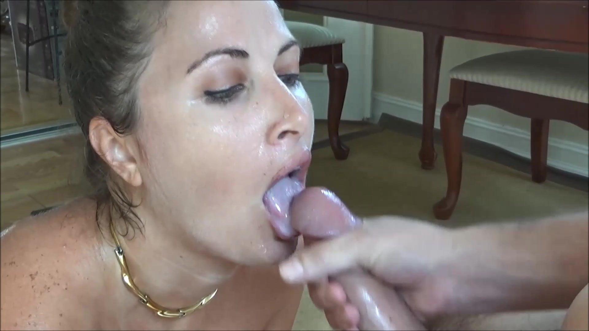 Young Black Girl Sucking Dick