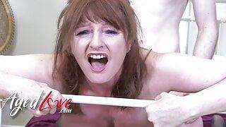 AGEDLOVE – Hot Mature Lady Ava Fucking Horny Stud Jack