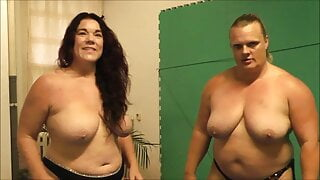 Kristie Etzold vs Anna Konda Female Wrestling Naked