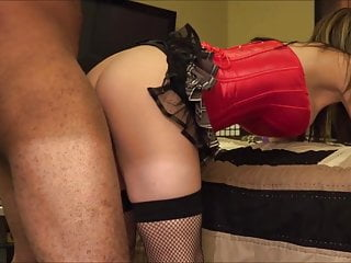 In lingerie sexy wife Sexy wife take it from behind