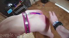Purple Vayda - Belt whipping - Day 1