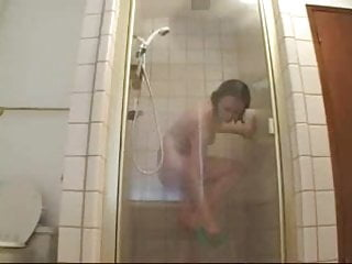 Teen shower surprise - Surprise in the shower