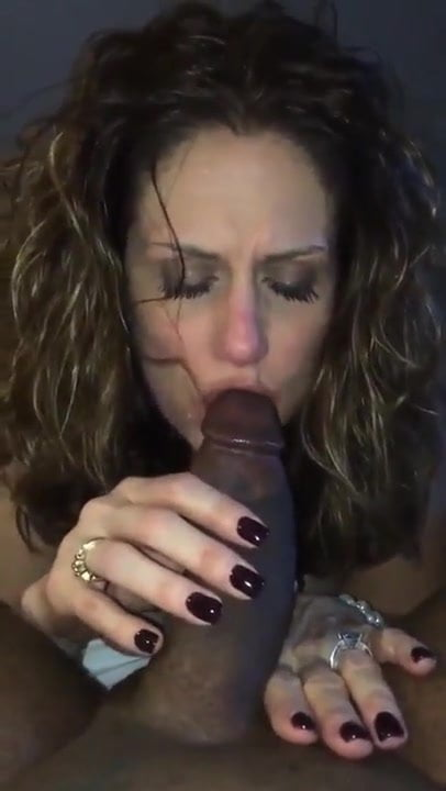 Black Shemale Sucks Cock
