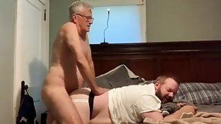 Grampa fucks younger bear