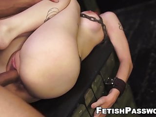 Cocks chained together - Chained lily dixon struck with latino cock and facial