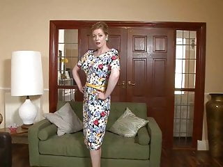 Young twink smooth Hot classy milf in shiny smooth nylons