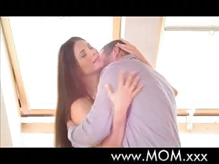 Sexy brunette mpeg Mom sexy brunette milf loves his huge cock