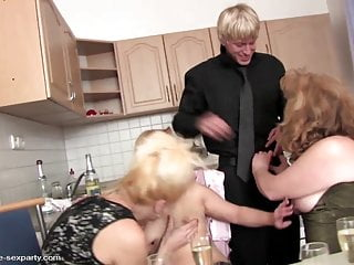 Stories bachlor party sex mom - Moms party turns into orgy with young boy