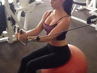 Celebrity big tit movie clips - Jessica lowndes sexy workout clip