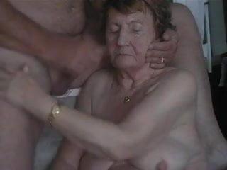 Videos of grandma porn On the face of grandma