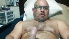 Hot Dad in bed