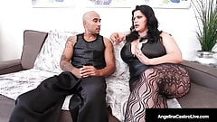 Big Boobed Latina Angelina Castro & Hard Cock Fuck Sara Jay!