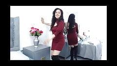 Hottest Columbian Model's Sensuous Striptease Compilation
