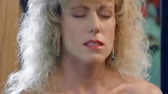 Pussy licking and dildo action with vintage busty lesbians