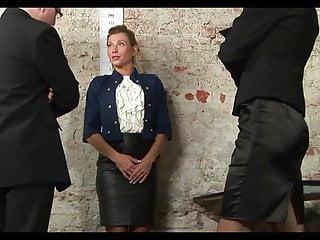 Naked church secretary Sexy milf secretary humiliating naked job inteview