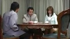 Japanese Wife Gets Creampie