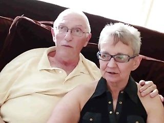 Amiture granny porn - Elderly husband fucked with young man