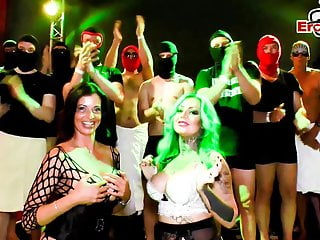 Condom sex toy womens - German gangbang teens at extreme cum party no condom