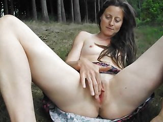 Tranny banged my wife isabelle Cute french slutty wife isabelle masturbating outside