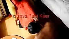 Indian Mistress Rani feet worship