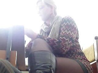 Bondage mpeg nylonfeet Mrs teacher and her nylonfeet 7