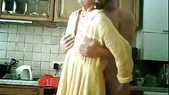 Grandma and grandpa at play