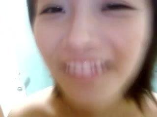 korean girlfriend shower video