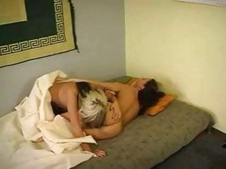 Hermaphrodite double fucked Hermaphrodite fucks wife in the morning
