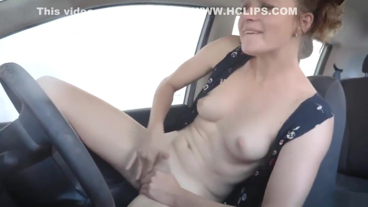 Playing Her Pussy The Car