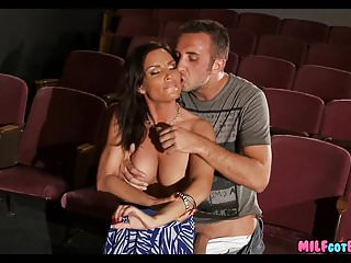 Moms fuck young cock movies Movie theater milf