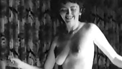 RING OF FIRE - vintage cowgirl naked dance tease