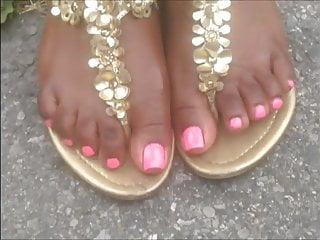 Shantel jackson naked Shantel pink toes