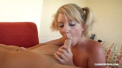 18yo Tessa Taylor's first porn shoot