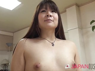 Amateur japanese mom Small tits japanese mom spreads pussy for sex