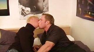 Boyfriend and Girlfriend share a blonde bitch boy