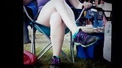 Sandy's legs slideshow messaege me for faceshot